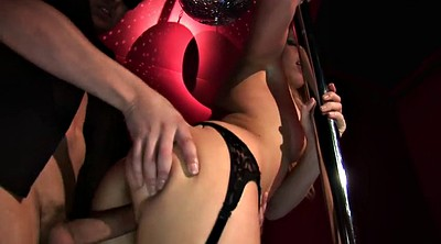 Stripper, Clothed anal, Blonde anal