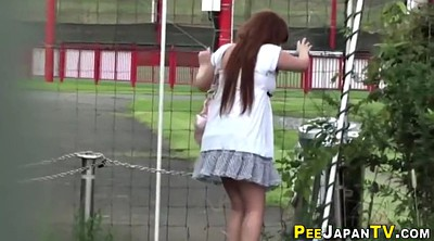 Japanese outdoor, Urine, Urinal, Voyeur pee, Japanese pee