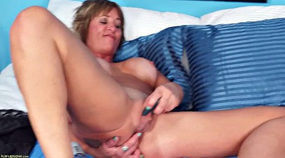 Mature mommy, Blonde mature, Naughty, Milf dildo, Mature dildo