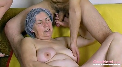 Granny masturbation, Naked