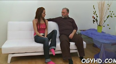 Russian, Old guy, Seduced