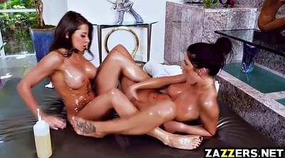 Massage, Madison ivy, Lesbian feet, August