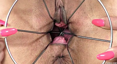 Gyno, Gaping pussy