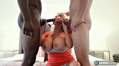 Black monster cock, Monster tits