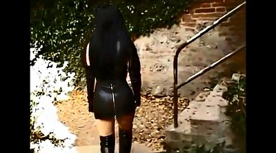 Leather, Leather skirt, Lady