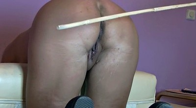 Wife, Spanking wife, Pain, Big ass wife