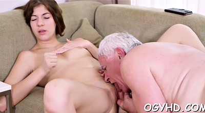 Russian granny, Granny blowjob, Young pussy, Russian young, Old pussy