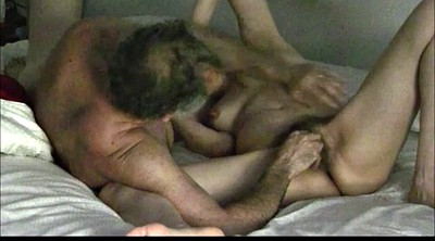 Hairy mature, Mature wife, Wife watching, Long time, Married