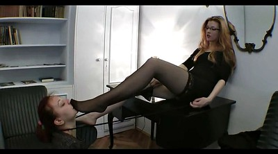 Nylon feet, Mistress feet, Foot fetish
