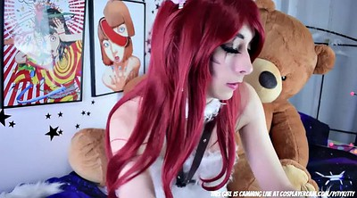 Fingering, Cosplay solo