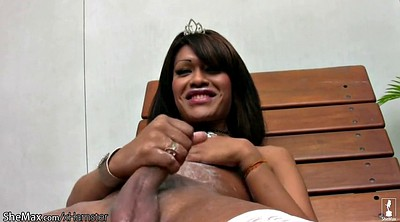 Outdoor, Beautiful tranny
