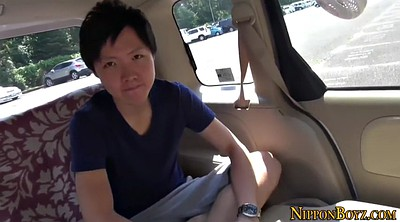 Car, Japanese solo, Japanese masturbation, Gay japanese