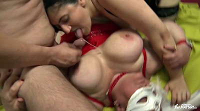 White, Mature group, Bbw threesome, Bbw group