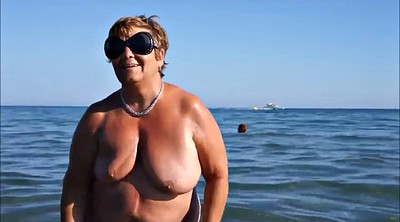 Public, French bbw, Public nudity