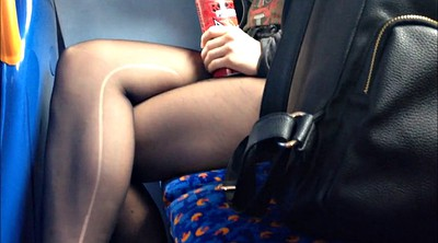 Bus, Beautiful legs