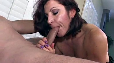 Smoking, Mature blowjob