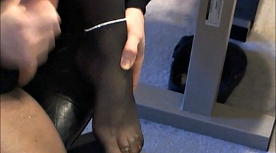 Nylon, Nylon feet, Crossdresser, Gay feet, Sexy feet