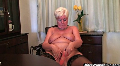 British, Sexy granny, Sandy, British mature