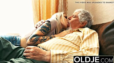Old man, Girlfriend, Sexy granny