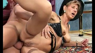 Granny, Mom anal, Mature anal, German mature