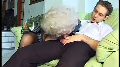 Granny, Deepthroat, Old mom, Horny mom