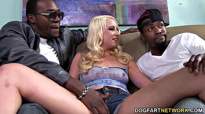 Interracial dp, Double bbc