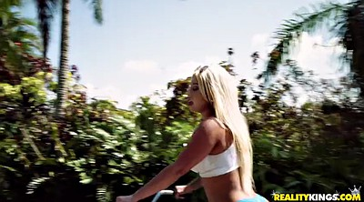 Brandi, Dildo ride, Bicycle, Teen dildo ride