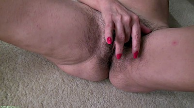 Milf hairy solo, Solo orgasm, Reveal, Milf solo, Hairy masturbation