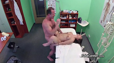 Doctor, Cum on pussy, Trimmed pussy, Office cam, Doctor voyeur
