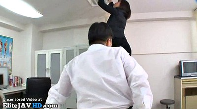 Japanese teacher, Masturbation, Student, Japanese teachers, Nylon handjob