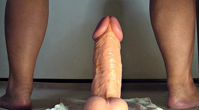Monster cock, Julie, Anal big dildo