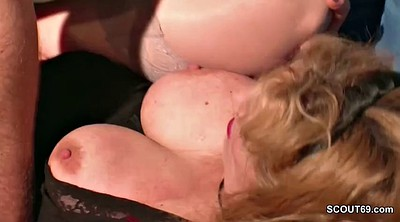 Step mom, German mom, Mom big tits