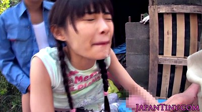 Saggy, Japanese granny, Asian granny, Two girl, Japanese old, Granny outdoor