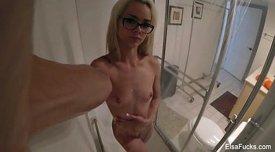 Small tits, Shower