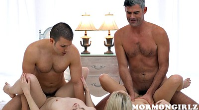 Orgy, Mormon, Hairy hd, Hairy blonde, Big tit orgy