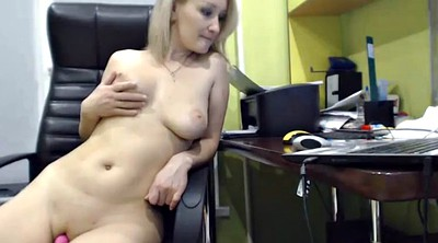 Office masturbation, Sexy slut