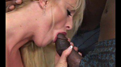 Interracial, Big tits, Blond
