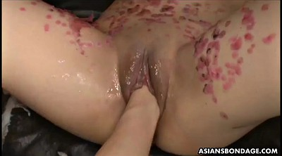 Brutal, Japanese bdsm, Japanese bondage, Water, Asian fisting, Wax