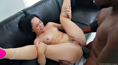 Small cock, Hairy fuck, Big white ass