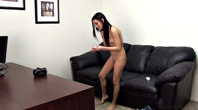Casting anal, First, First anal, Casting creampie