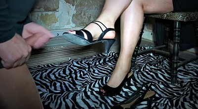 Mom, Nylon feet, Nylon foot, Mom nylon, German foot, Foot slave
