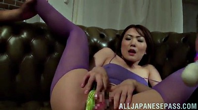 Asian gangbang, Orgasms
