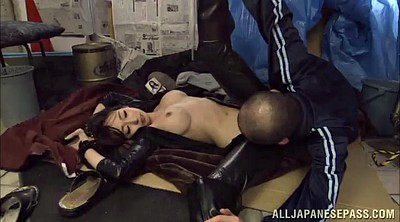 Leather, Asian doggystyle