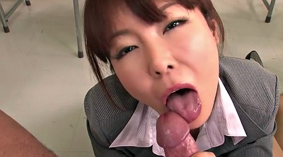 Japanese teacher, Cream, Students, Japanese student, Japanese gangbang
