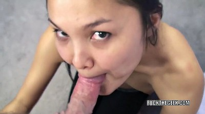 Oriental, Black blowjob, Asian black cock