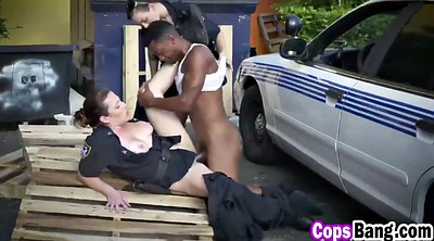 Police, Milf interracial