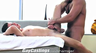 Asshol, Two cock, Gay casting