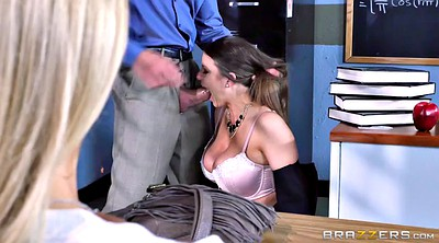 Alexis, Alexis fawx, Watching husband, Classroom