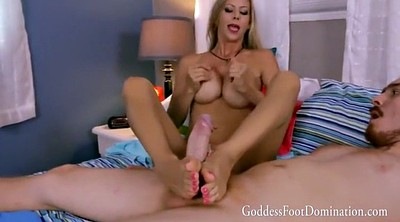 Foot job, Milf handjob