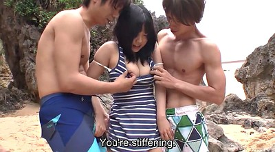 Subtitle, Beach, Subtitles, Japanese outdoor, Japanese hd, Japanese uncensored